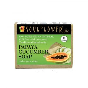Soulful Papaya and Cucumber Soap