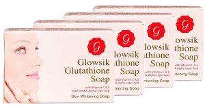 Glowsik Glutathione skin soap