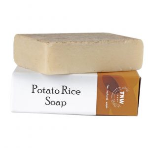 The Natural Wash Handmade Potato Rice Soap
